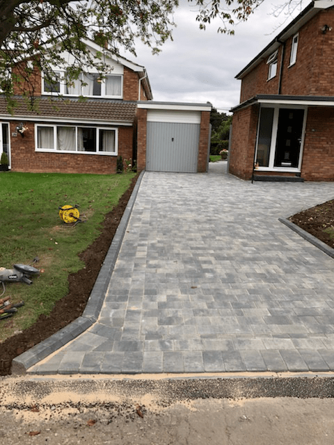 block paving Crystal Palace