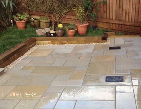 local patio installer Epsom