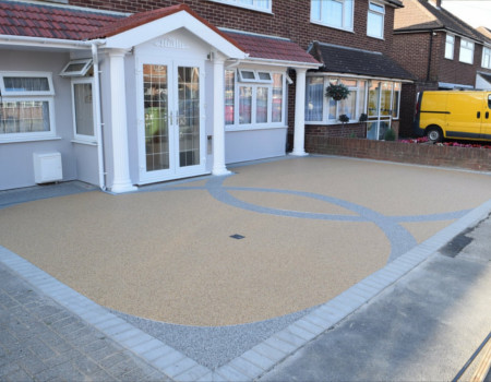 local resin driveway company Crystal Palace