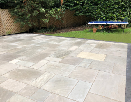 patio installer Epsom